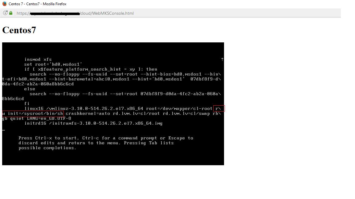 Reset Lost Root Password – CentOS 7 | Jordansphere